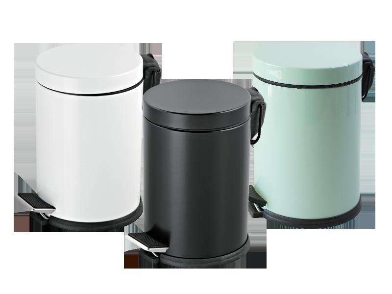 Efor Metal Ürün Grubu Renkli Pedallı Çöp Kovaları