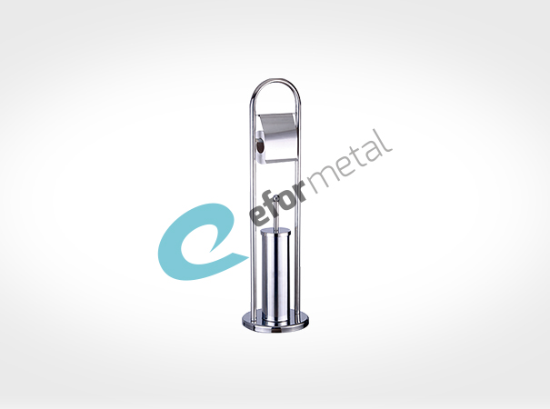 Ayaklı WC Fırçalık / Kağıtlıklı